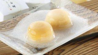 清水白桃半割り果実ゼリー